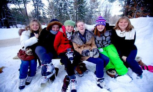 Sömestre tatilinde Kanada'da Kış Kampı!